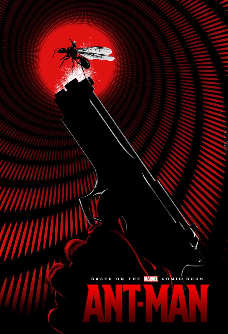 """Marvel's """"Ant-Man"""" Poster"""