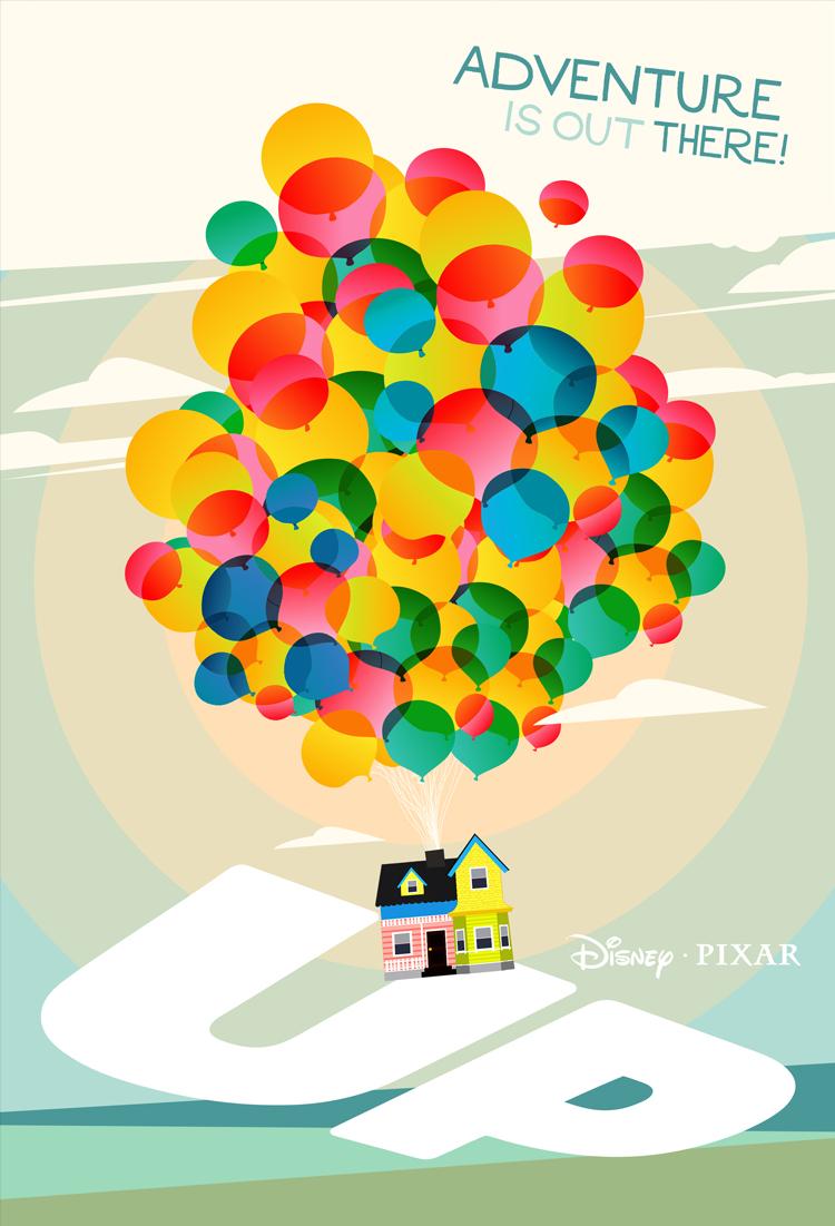 New Poster Pixar S Up Laz Marquez