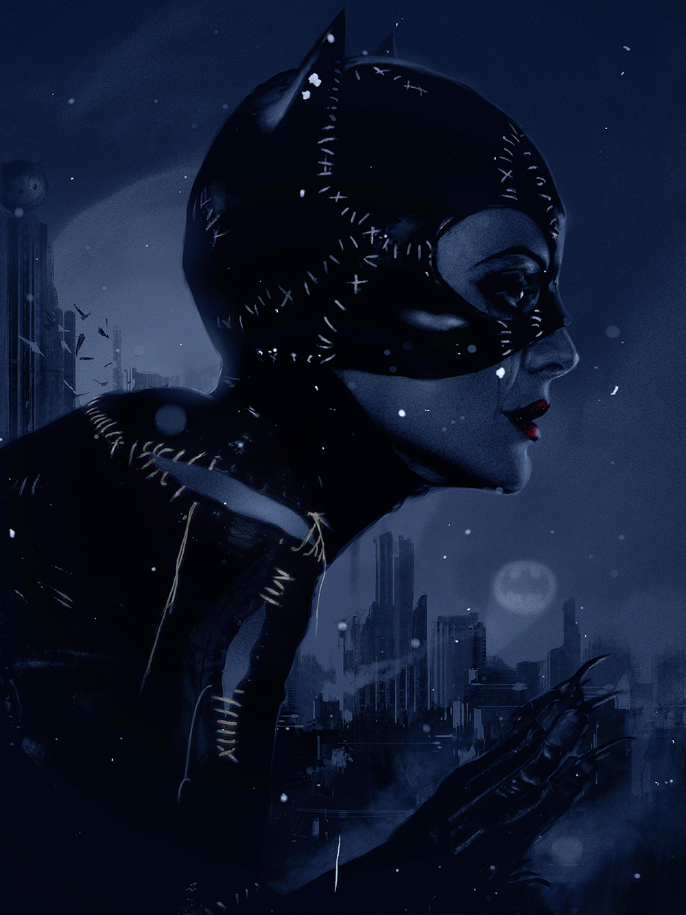 "Crazy 4 Cult 10: Catwoman ""Blue"""