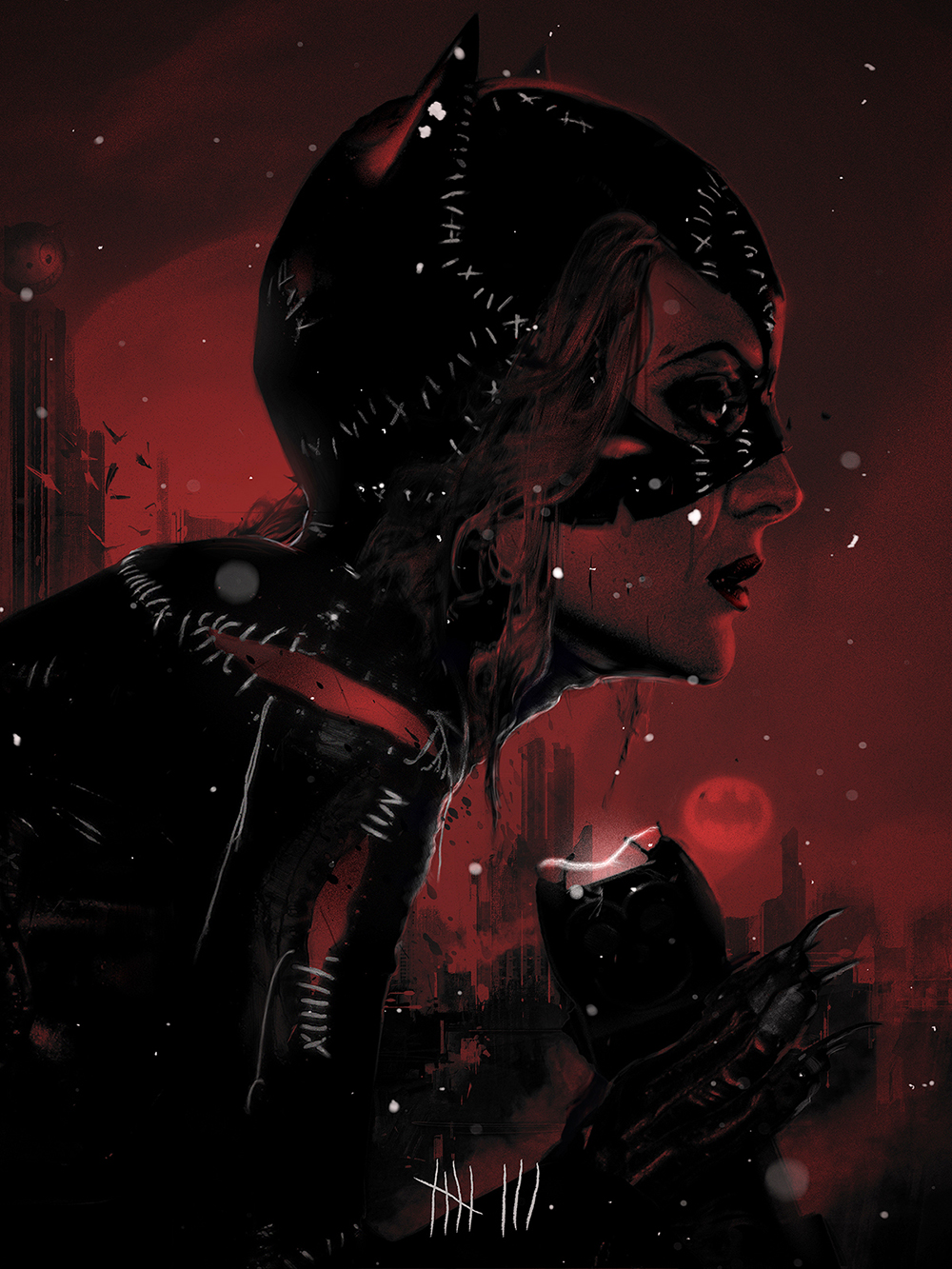 "Crazy 4 Cult 10: Catwoman ""Red"""