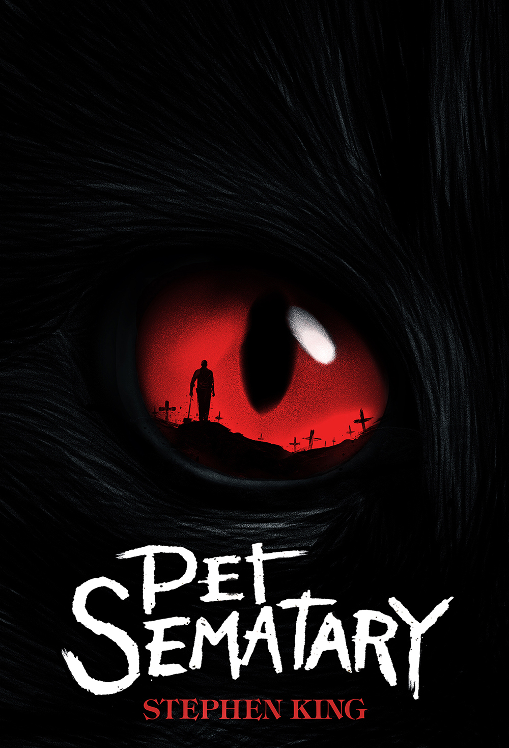"Stephen King's ""Pet Sematary"" Book Cover"