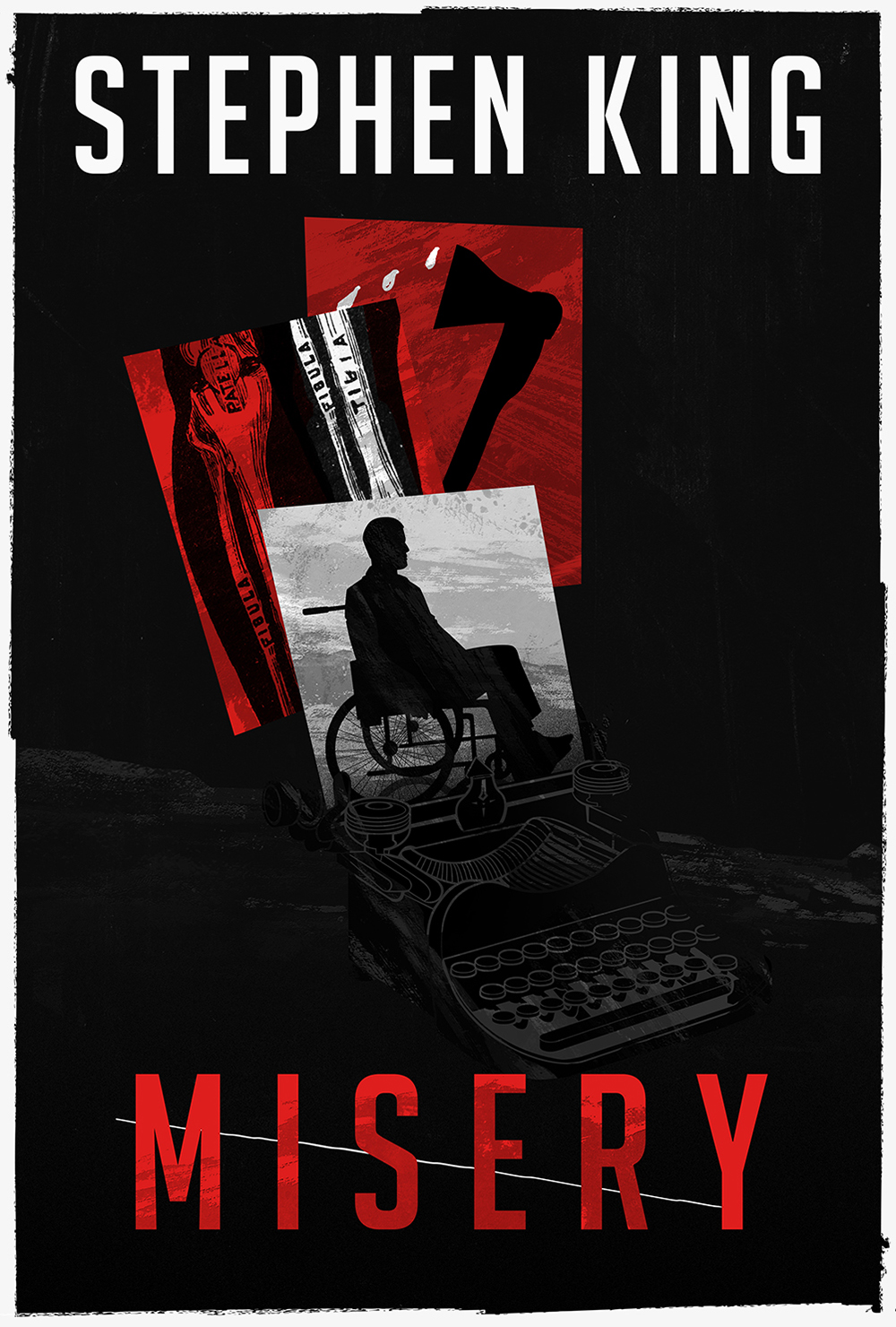 "Stephen King's ""Misery"" Book Cover"