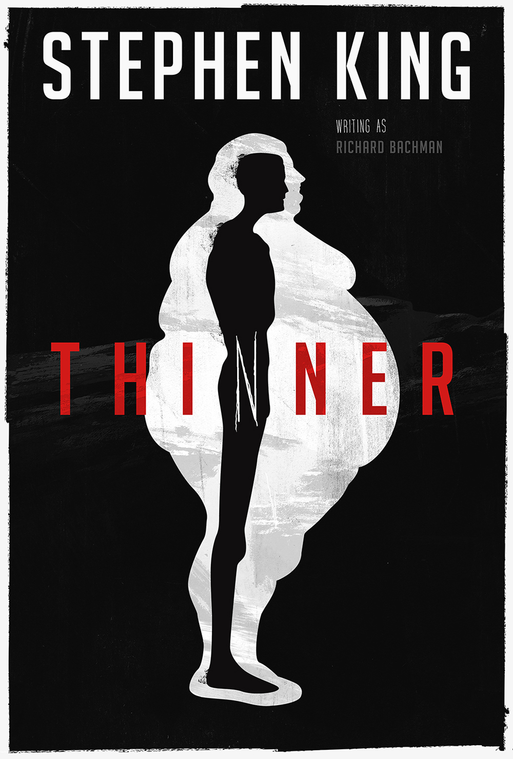 "Stephen King's ""Thinner"" Book Cover"