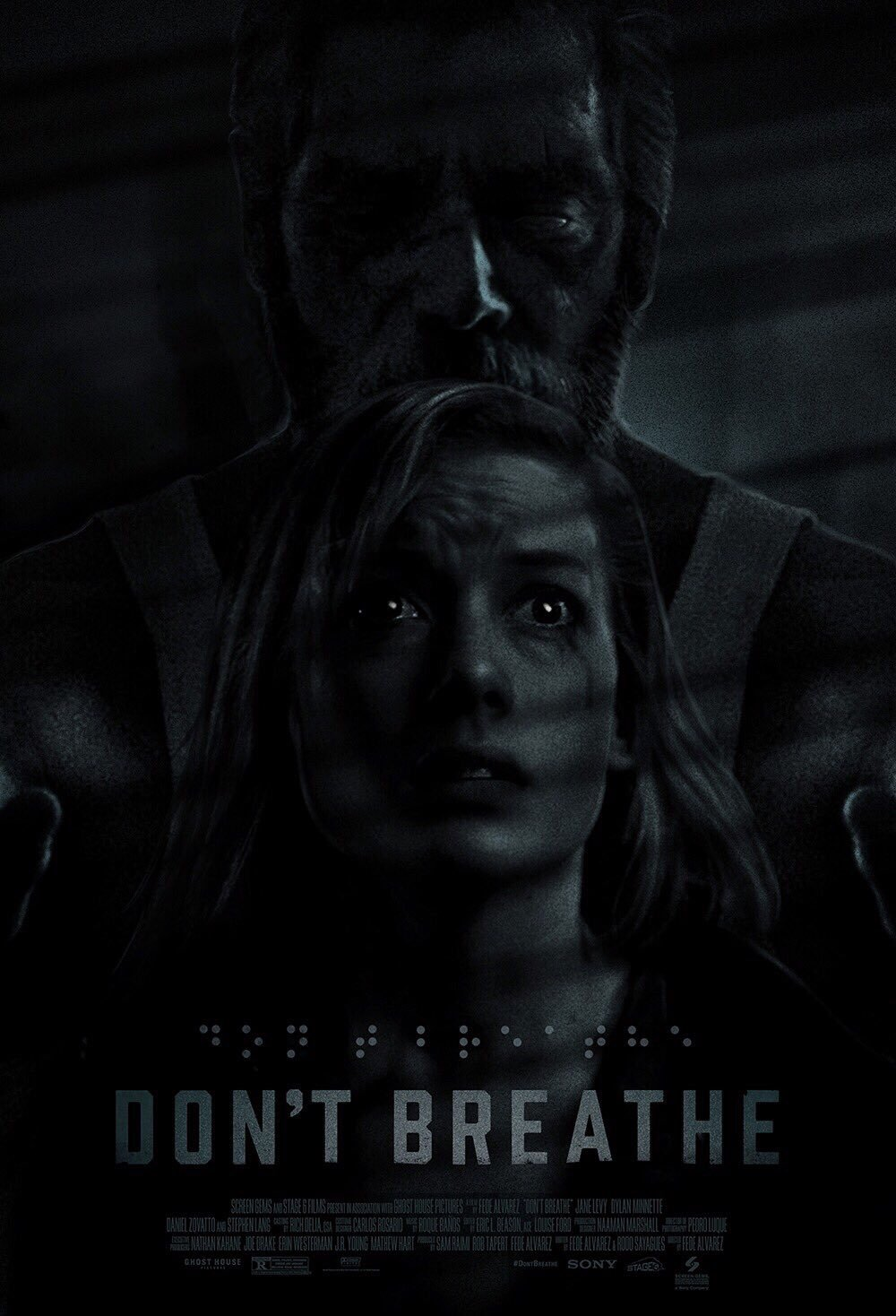 """Don't Breathe"" Poster Print"