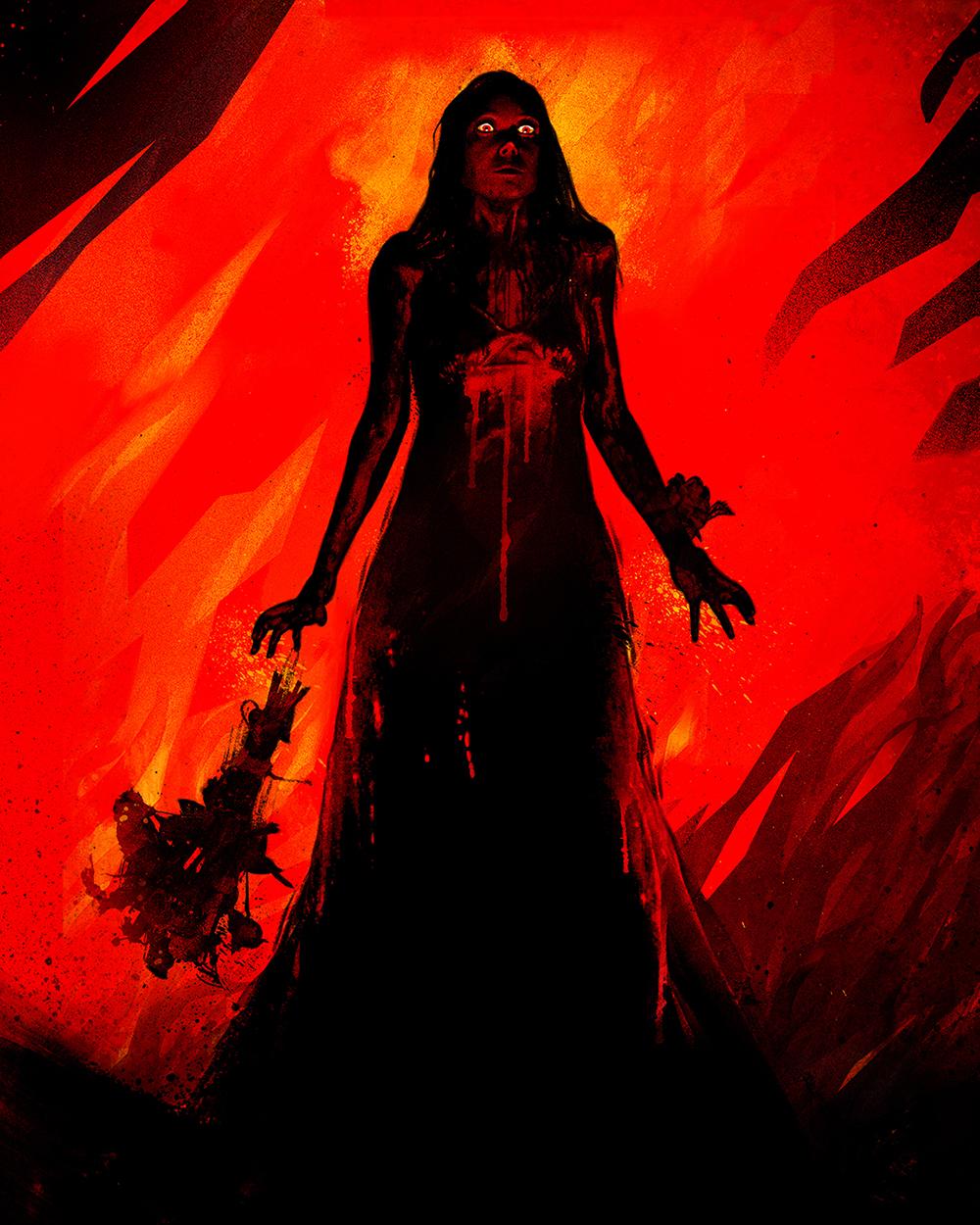 "Stephen King Art Show: ""Carrie"""