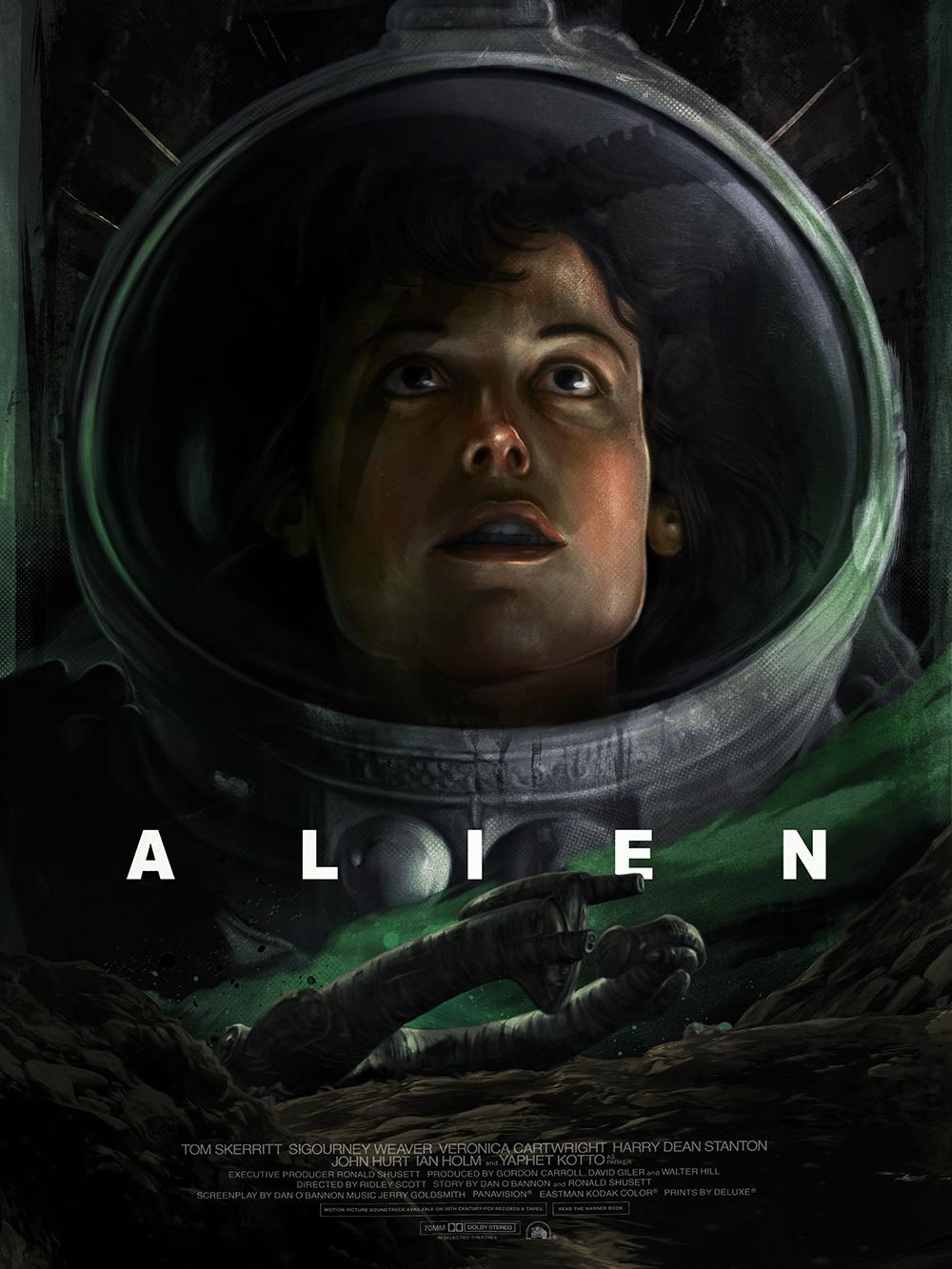 """""""ALIEN"""" Poster Art"""