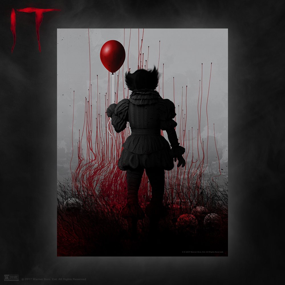 Exclusive Print released by Cinemark Theatres for the opening of IT