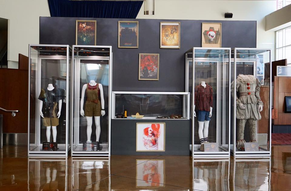 """IT"" Costumes, Props and Official Artwork on display at Arclight Cinemas in L.A."