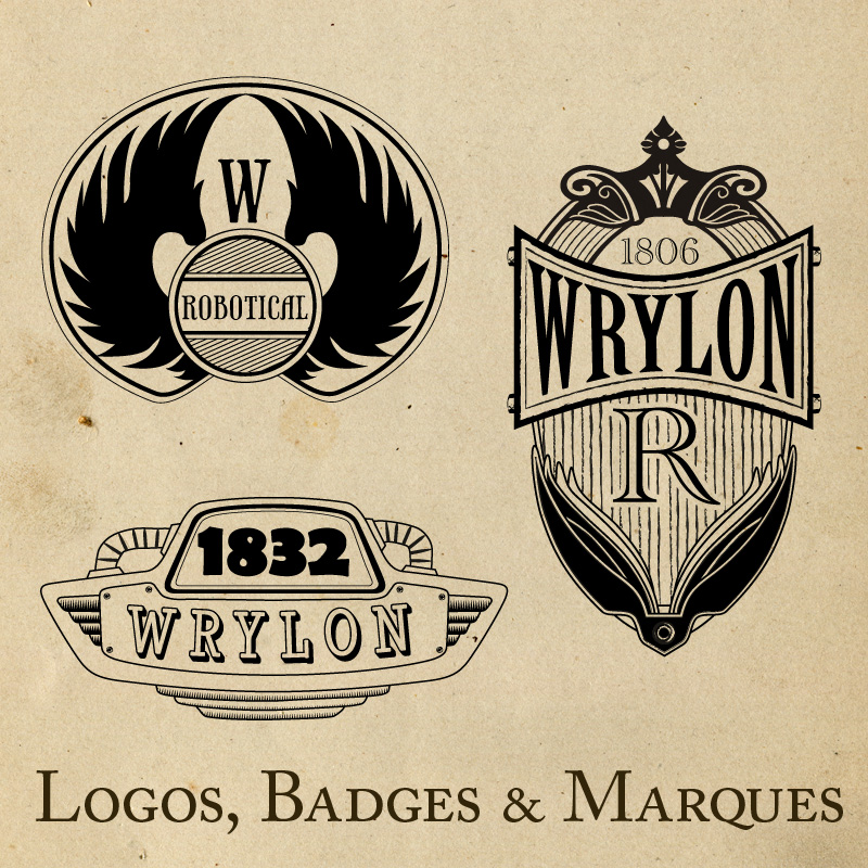 Additional Wrylon branding materials. Updated as more are uncovered.
