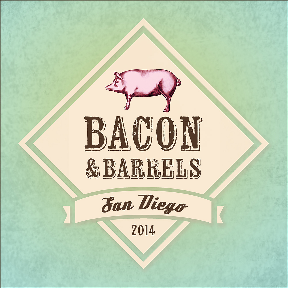 Bacon and Barrels Logo Design