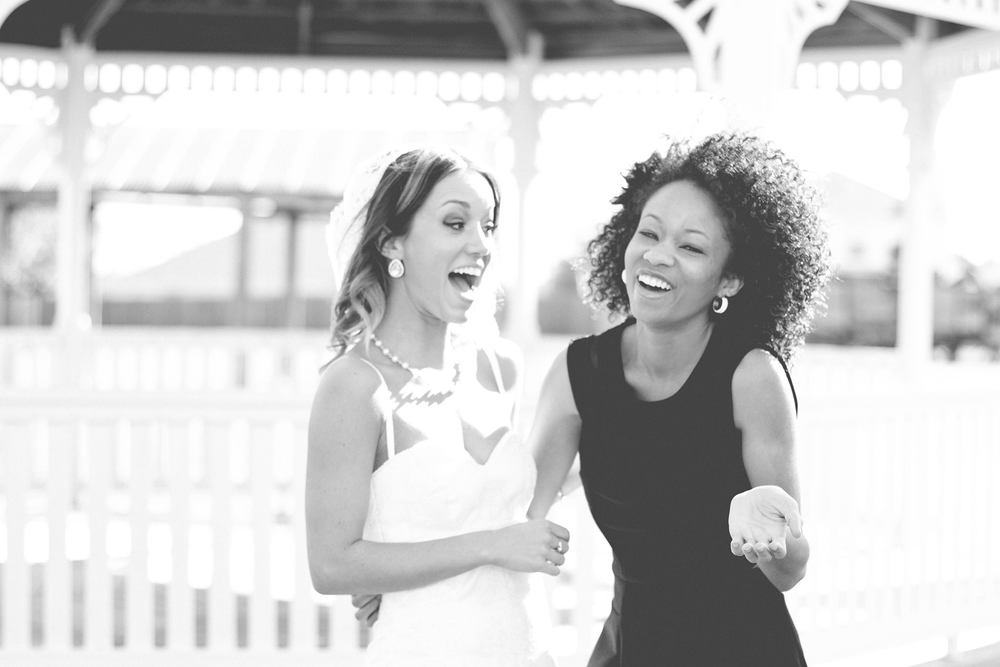 My wonderful best friend and previous roomie, Whitney. This picture is from my wedding in January, she was my maid of honor.
