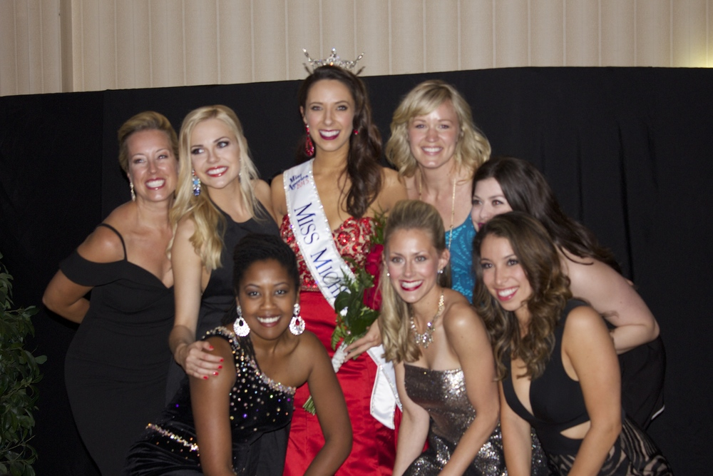 Past and present miss michigan's