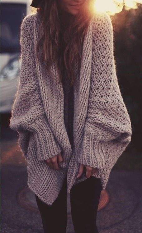 1. Sweaters - I'm all about an oversized sweater! Sweaters add that cozy and comfy look to your wardrobe and help you feel the ease of Fall. Of course, you can buy some pretty cheap ones at Forever 21® or you could even thrift them for less.