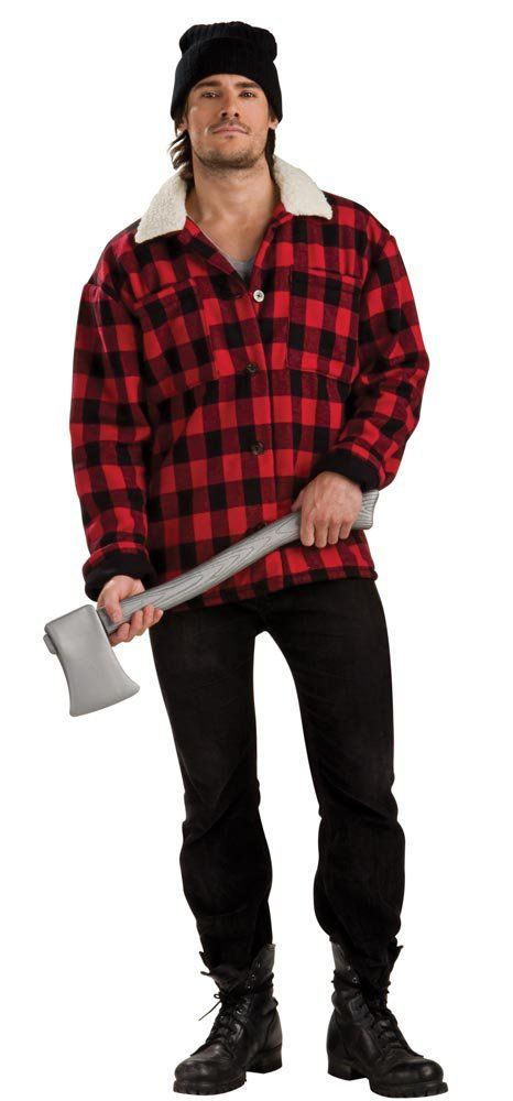 8. Lumber Jack - Who doesn't love a lumber jack? This look is so simple. Grab some jeans, a flannel, and a fake axe.