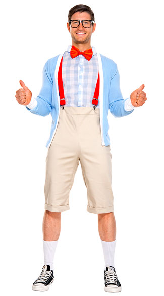 10. Nerd - Suspenders, a sweater, and some pants and you're done! Oh, and don't forget the glasses.