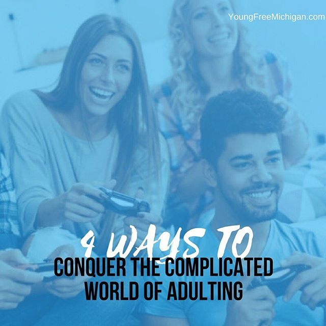 "If you successfully paid a bill, did your laundry, ran your own errands, or cooked your own dinner today, then you have officially ""adulted."" Some of us naturally ease into the role, others take a bit longer and are better in some areas than others. Click the link in my bio to read some  tips to conquer #adulting."