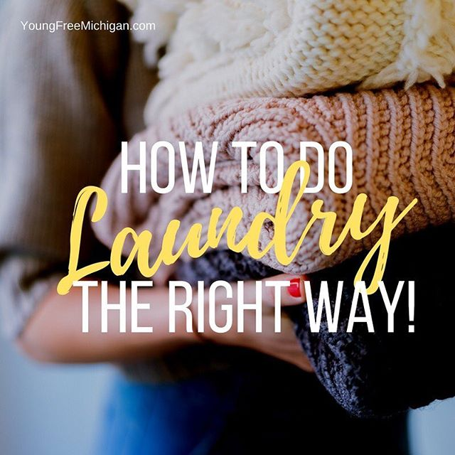 Could you be doing your laundry all wrong? If you missed the laundry lesson then this post is for you! #laundry #howtodolaundry