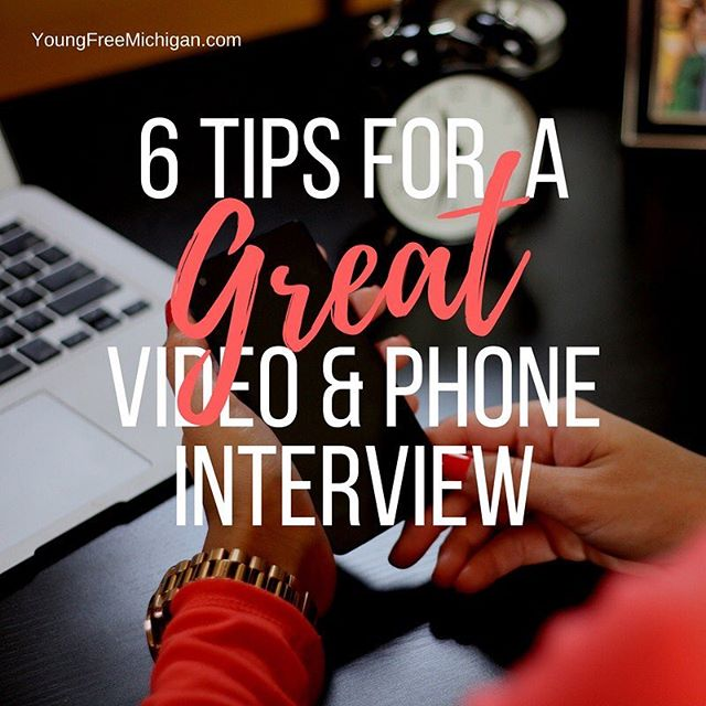 Find out how to nail your next phone or video interview! Click the link in my bio to read.