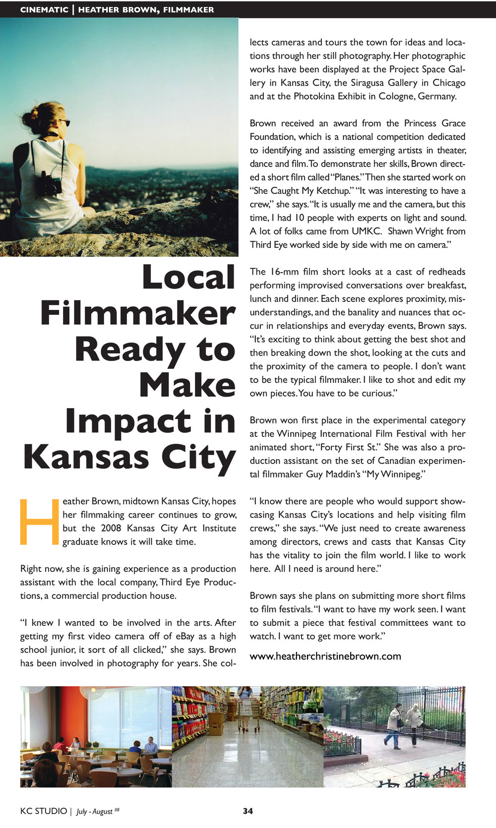 KC STUDIO MAGAZINE July/August 2008