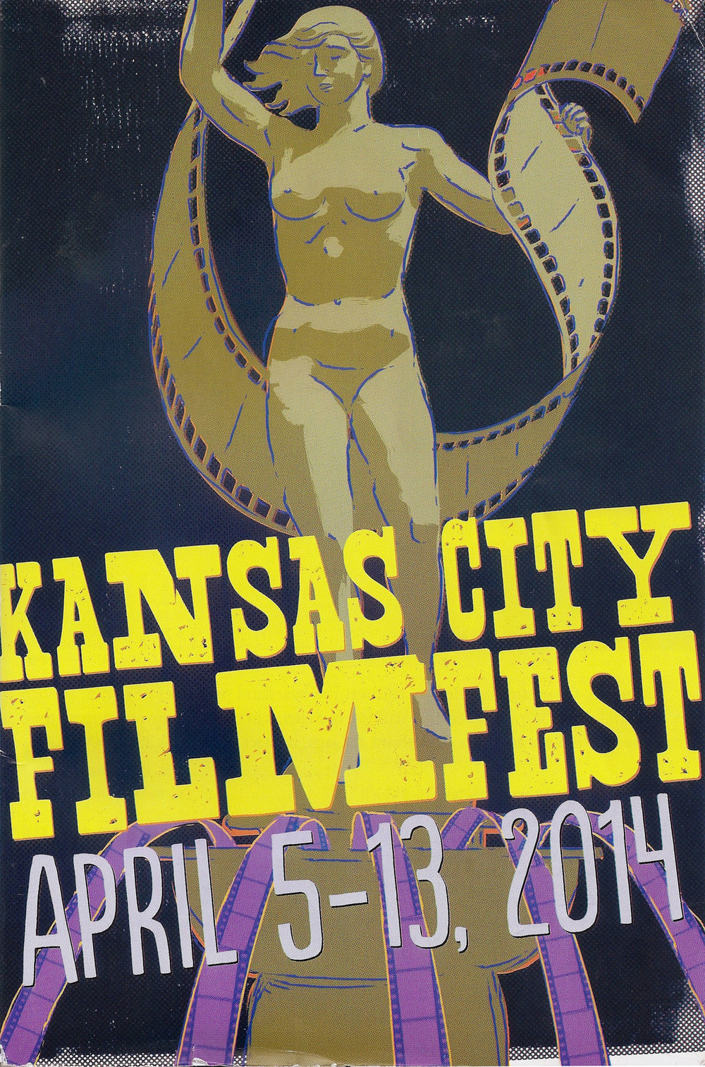 Program for Kansas City Film Festival 2014