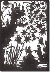 Daeumelinchen  (Märchen von Hans Christian Andersen und Scherenschnittillustrationen von mir), 48 Seiten