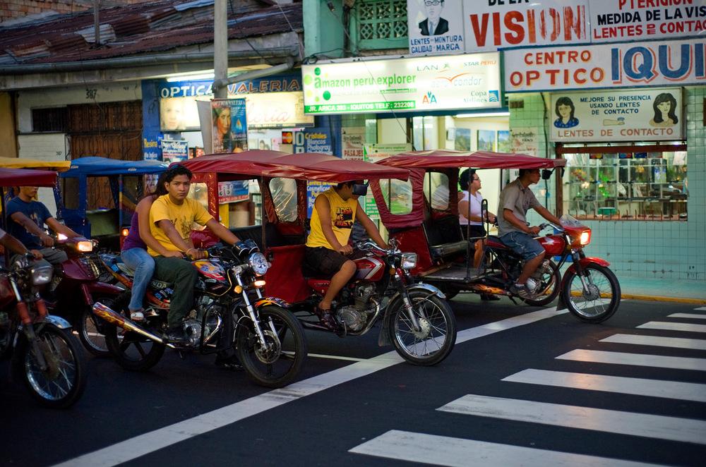 Iquitose mototaksod. Foto: Kaupo Kikkas