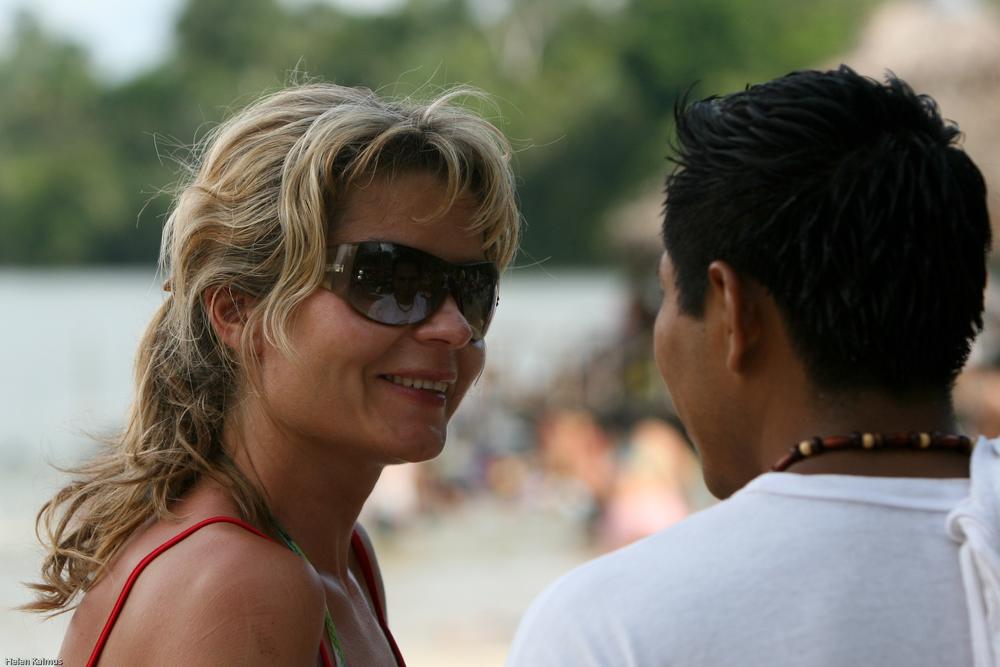 Kristiina meie kõige esimesel reisil, Peruus2008.aastal. Foto: Helen Kalmus