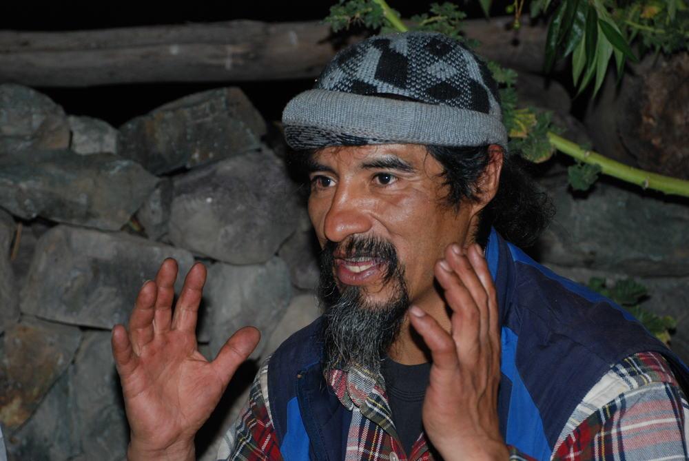 Meie võõrustaja ja teejuht Roberto. Foto: Kaidi Reinu