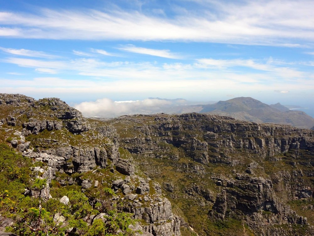 View on top of Table mountain. Foto: Charlene Niehaus