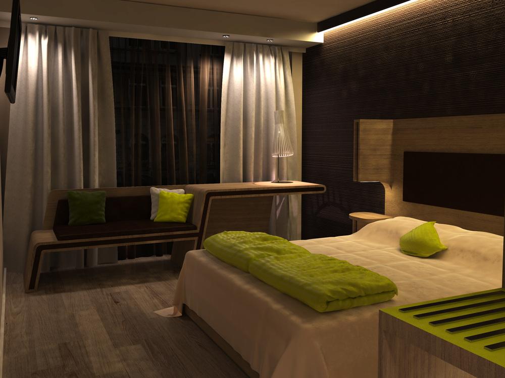 Design Zimmer Hotel Schweiz
