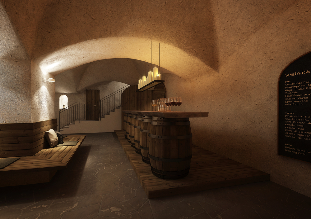 Design weinkeller  Weinkeller Schloss — Studer