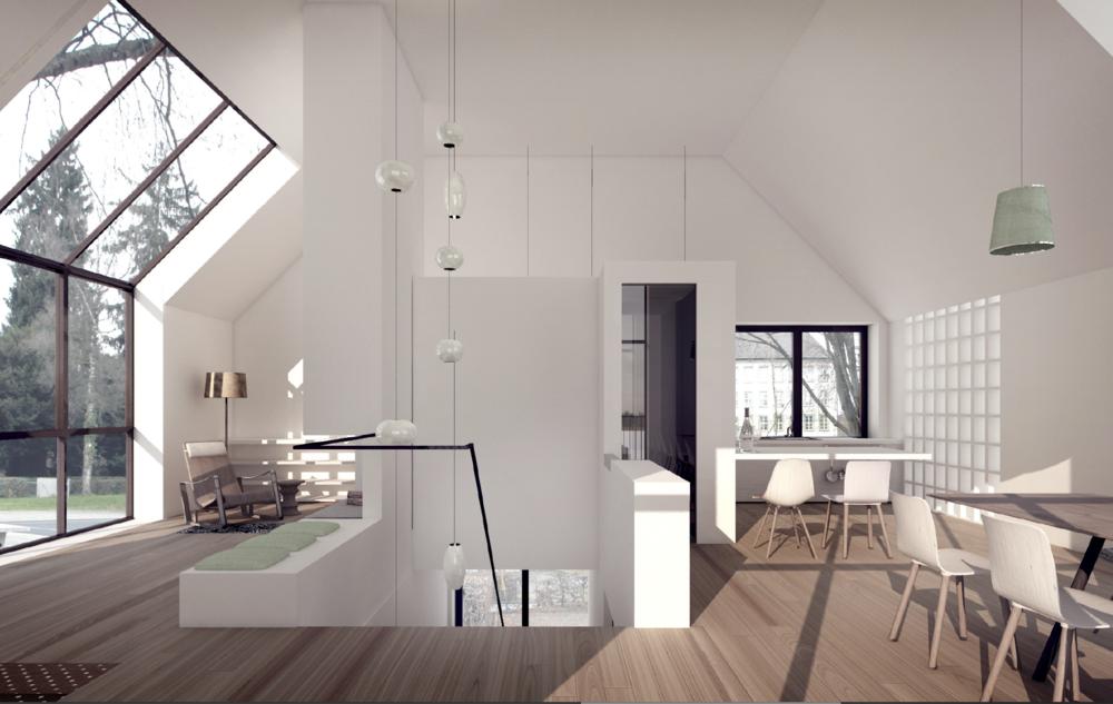 Architekturprojekt Zuerich Küche:Cheminée.png