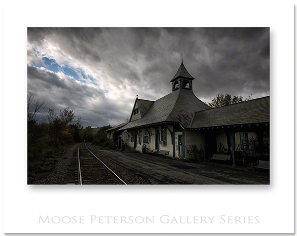 Train Station - Westport, NY