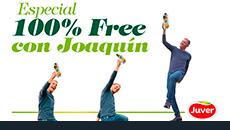 2018 / Juver. Especial 100% Free con Joaquín.