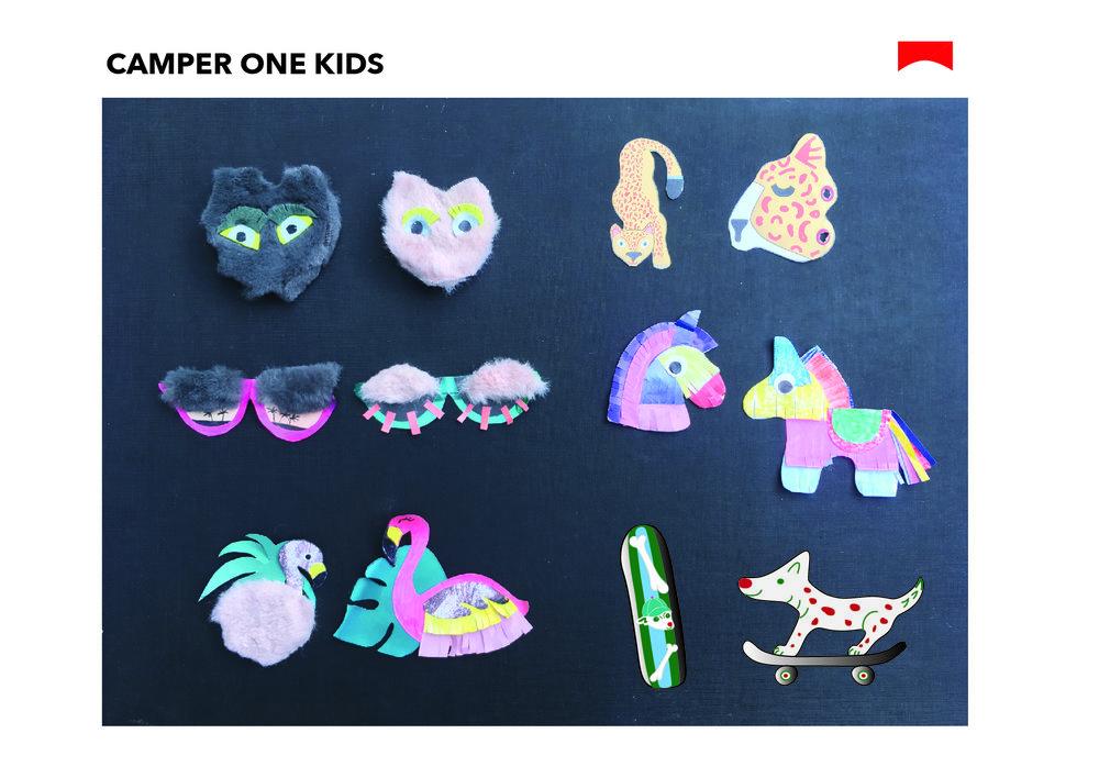CAMPER ONE kids
