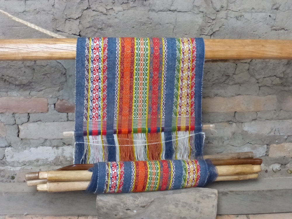 Backstrap Weaving Display