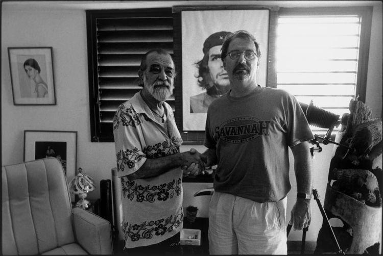 Alberto Diaz Korda x Keith Havana 1998 Our first meeting showing Savannah GA College T shirt worn by cardie.