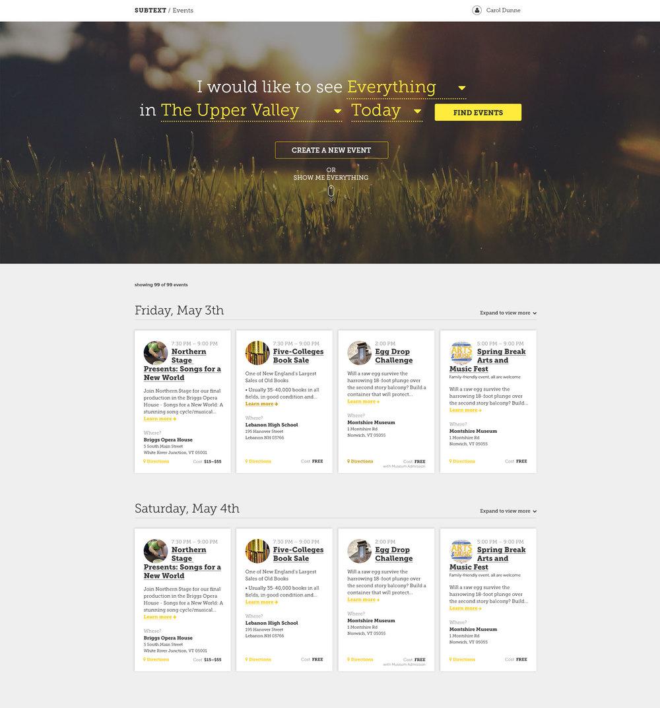 DailUV Subtext Web App