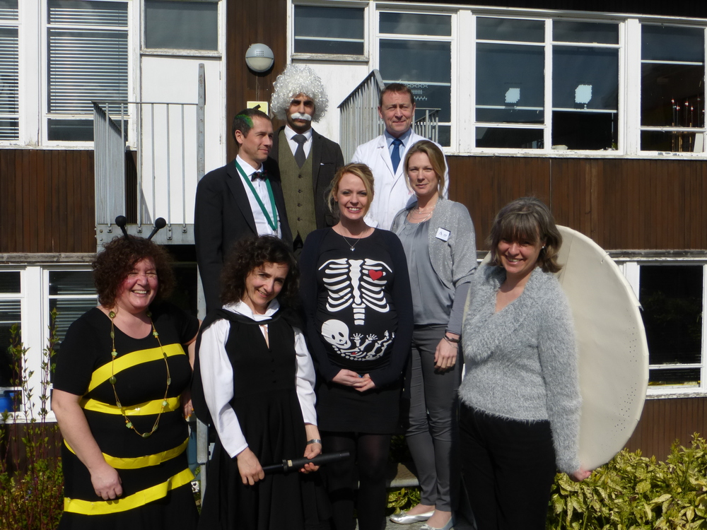 Teachers get into the mood for Science Week