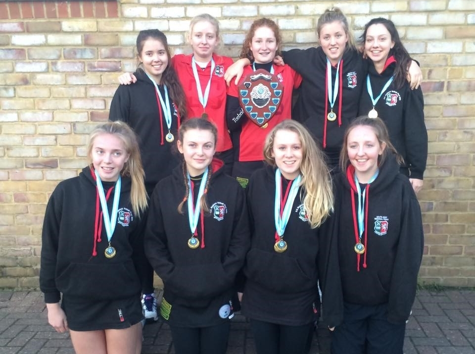 U16 Netball - County Champions