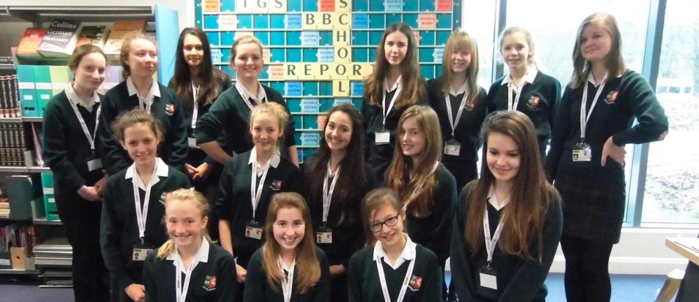 TGS BBC News Reporting Team 2015