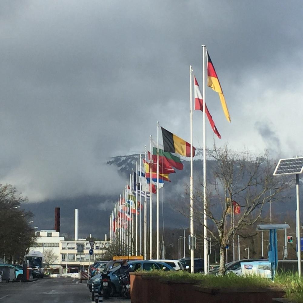 Outside CERN