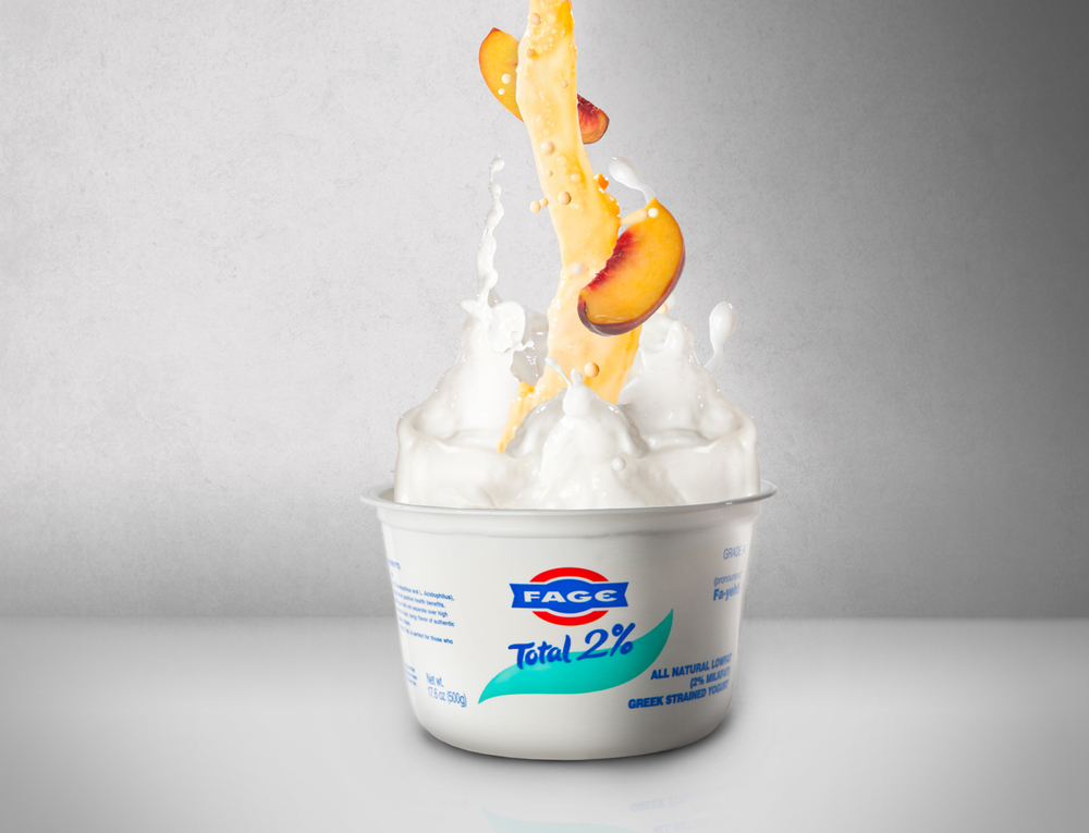 Product Photography Fage Yogurt