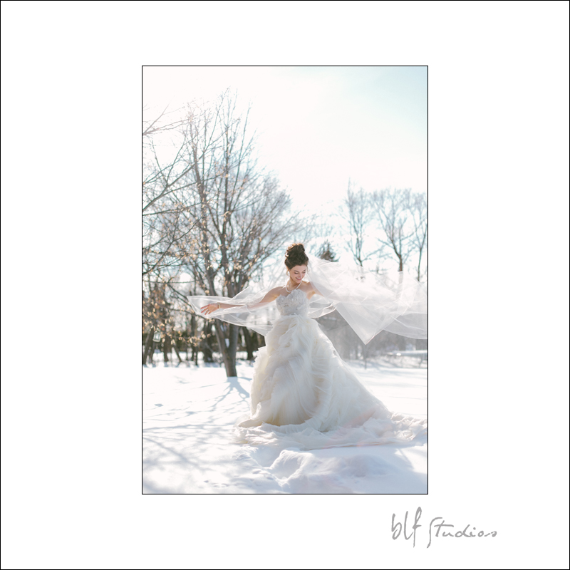 beautiful bride in the snow.jpg
