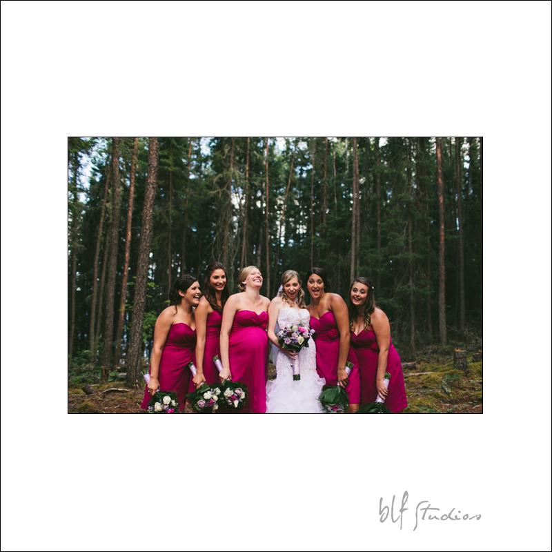 Red Lake Ontario wedding photographer