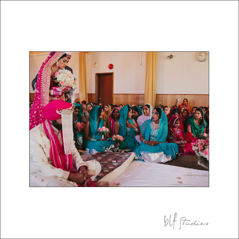 East Indian destination wedding photographer in Canada