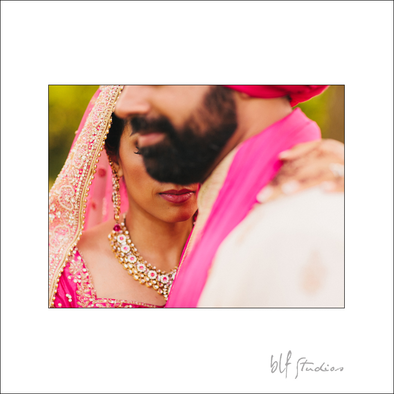 East Indian Wedding in Winnipeg bridal couple