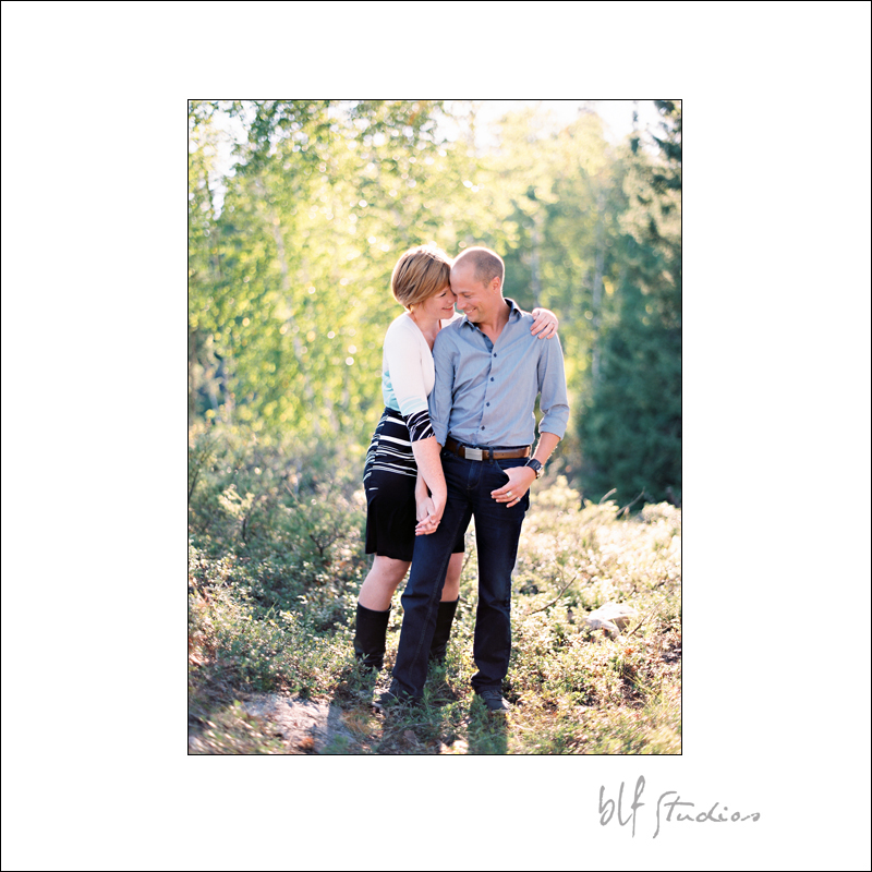 Fine Art Film Engagement Photography in Winnipeg