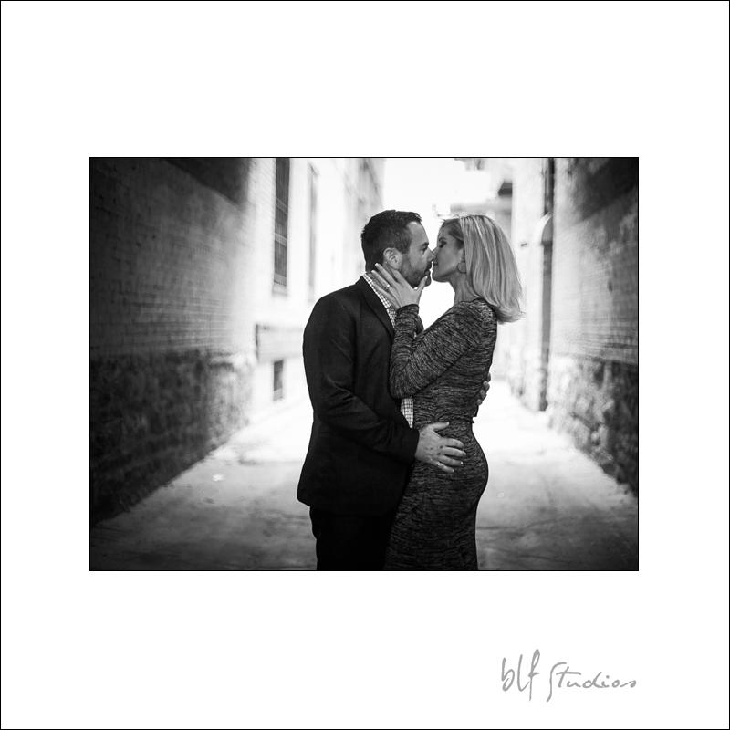 Engagement photographer in Winnipeg Exchange