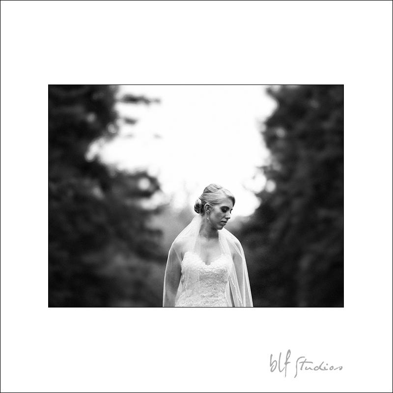 Assiniboine Park Bridal Portrait